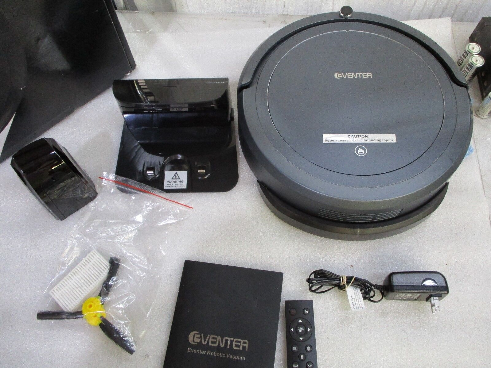 EVENTER Auto Robot Vacuum Cleaner Robot with Powerful Suction, Model E6008