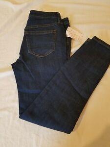 Nwt Jeans Blue 26 Free People aderenti 888374547006 78 Rinse Mallison Sz Dark pwzX1q