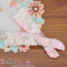 ☆╮Cool Cat╭☆【KS-45】Blythe/Pullip(1/6)Doll Knee Socks # Lace Pink