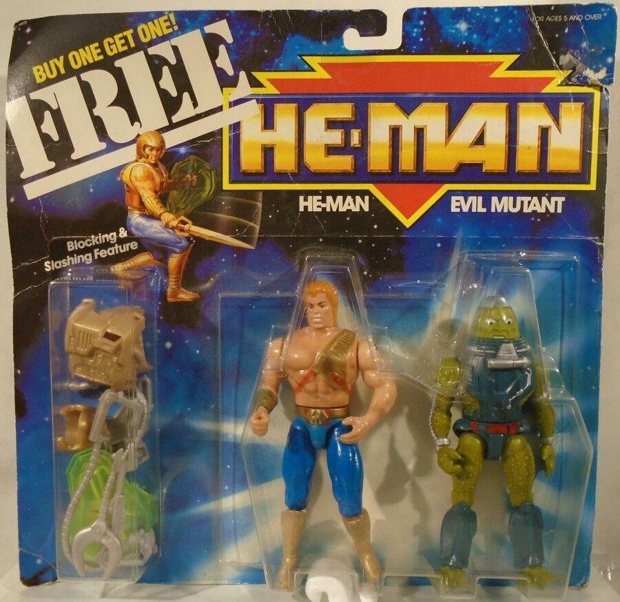 New Adventures Of He-Man & Slush Head Evil Mutant Masters Of The Universe (MOC)