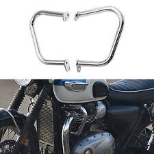 RENNTEC BASH BAR MOTORCYCLE ENGINE GUARD TRIUMPH BONNEVILLE THRUXTON T100 CHROME for sale online