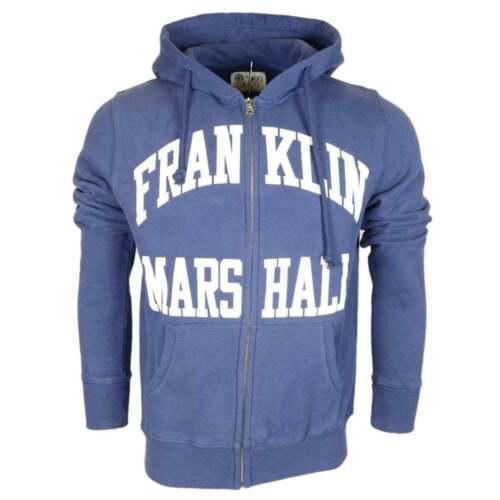 Marshall cotone marshall in blu Felpa con Franklin e scuro cappuccio qzxp0w4