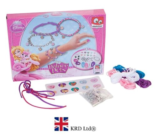 DISNEY PALACE PETS MAKE YOUR propre bracelet ensemble cadeau de noël stocking filler jouet