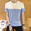 New-Men-039-s-Slim-O-Neck-Short-Sleeve-Tee-T-shirt-Fashion-Casual-Tops-Blouse thumbnail 2