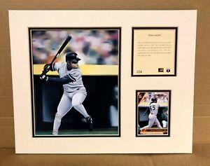 New York Yankees Danny Tartabull 1994 Baseball 11x14 MATTED Kelly Russell Print