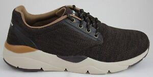 Uomo Scatola Skechers Cioccolato Memory Recent In Foam Nuove merven 65123 qCx1fwCd