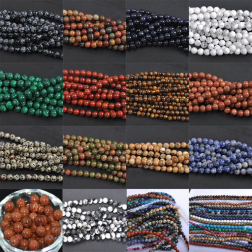 Wholesale Natural Gemstone Round Spacer Loose Beads Beautiful Cheap Jewelry Set