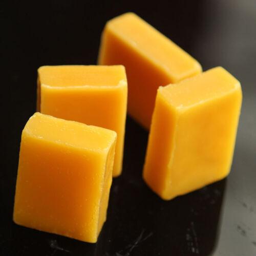 5Stk Pure Bee Wax Bienenwachs Block für Kerzen Kosmetik Möbelwachs Seife