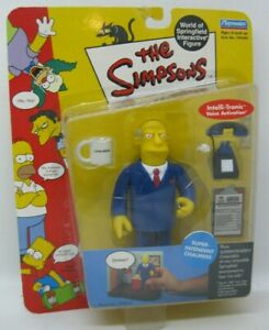 The Simpsons Super Intendent Chalmers Playmates 13cm Figurine