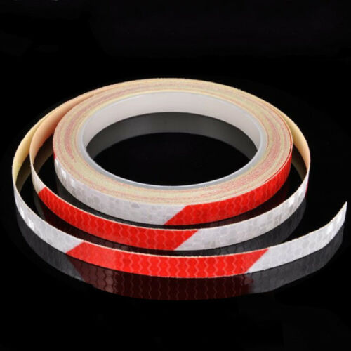 Reflective Stickers Motorcycle Bicycle Reflector Security Wheel Rim Decal Tape