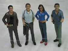 American Diorama 1/18 Detective Police Figures - Set of Four - GR8 4 Dioramas