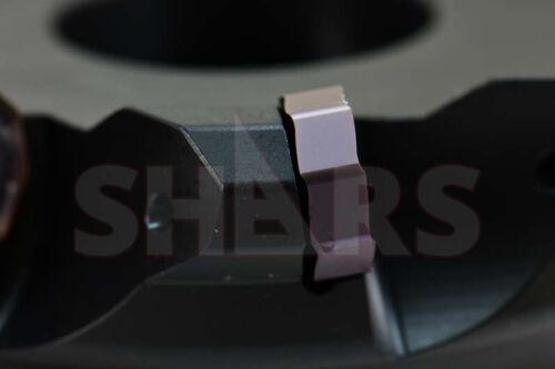 "Shars 5/"" 45° Indexable Face Mill ONHU Insert 16 Cutting Edge Insert"