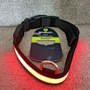 Large-dog-LED-Dog-Pet-Collar-Flashing-Luminous-Safety-Light-Up-Nylon-UK