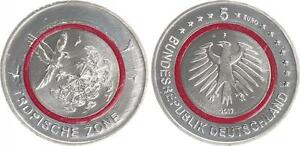 Lack Coinage Germany Tropical Zone 2017 Mint State - Mint Mark F