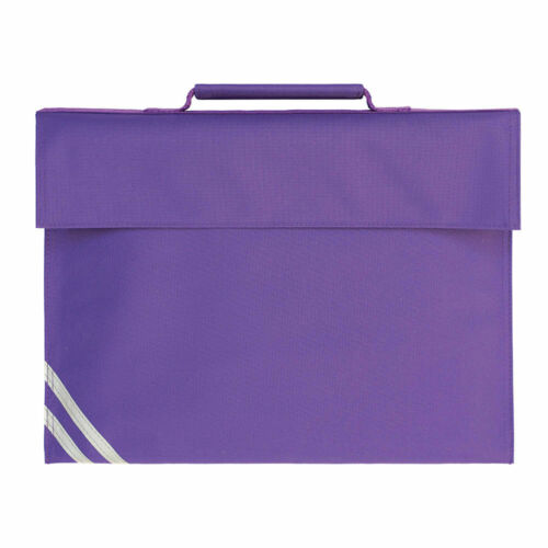 Kids Infant Junior Premium Classic School Book Bag With Shoulder Strap Holdall
