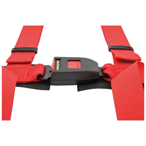 SECURON 3 Point Harnais Snap Hook montage en rouge SBH605RED