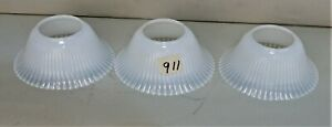 ART-DECO-OPALISCENT-GLASS-SLIP-SHADE-FOR-CHANDELIER-SCONCE-FIXTURE-SET-OF-3