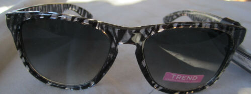 FOSTER GRANT Trend SUNGLASSES 10219646 black Scratch Resistant Lenses NEW w// Tag