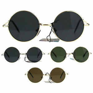 98be659270f0 Image is loading Flat-Panel-Classic-Round-Circle-Lens-Hippie-70s-
