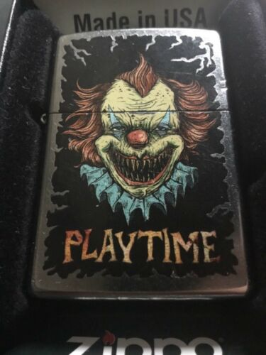 ZIPPO LIGHTER 2015 KILLER CLOWN