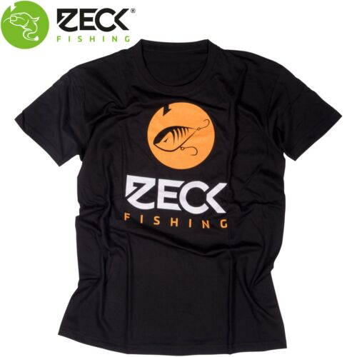 Angel T-Shirt Angelshirt Shirt für Angler Zeck T Shirt Predator Black