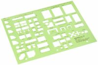 Templates Interior Design Alvin Kitchen Bed Bath Template Block Drawing Set Tool
