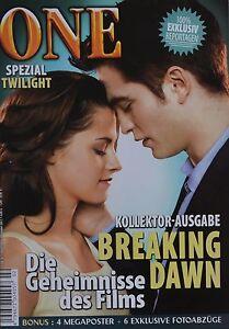 BREAKING-DAWN-ONE-Magazin-02-2011-XXL-Poster-Twilight-Clippings-Sammlung