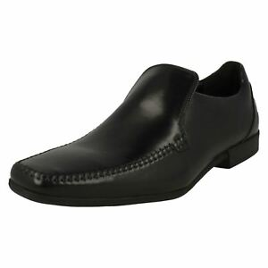 Noir Hommes Habillées Glement Chaussures Seam Clarks nXXOUTR