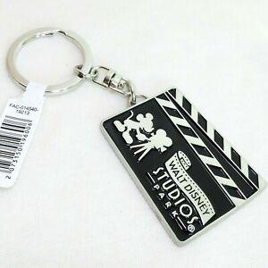 DISNEY Schlüsselanhänger * MICKEY MOUSE Filmklappe * Disneyland PARIS Studios