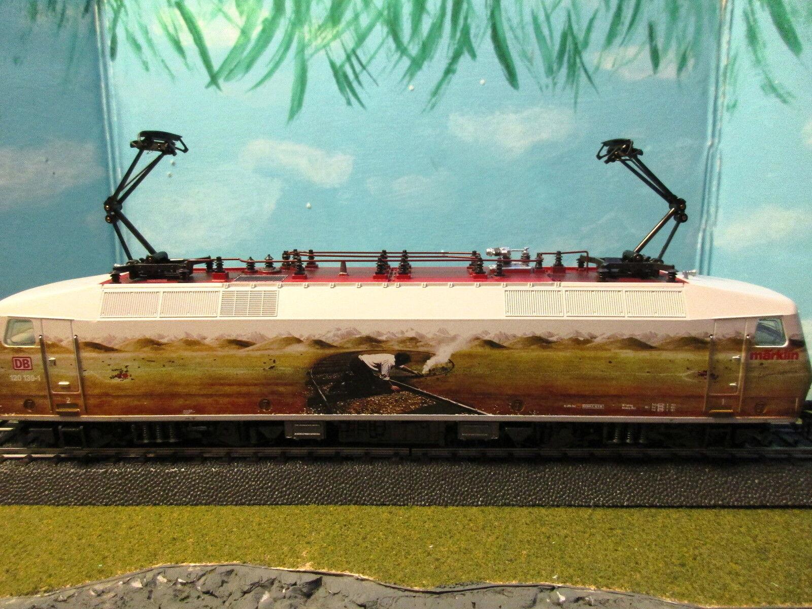 Marklin HO-digital eléctrico  Teun Lana del talón  Marrone 120 Locomotora   Raro