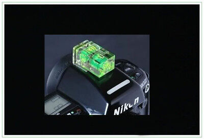 Twin 2 Axis Camera nivel de burbuja burbuja Para Canon Nikon Pentax Olympus en Reino Unido