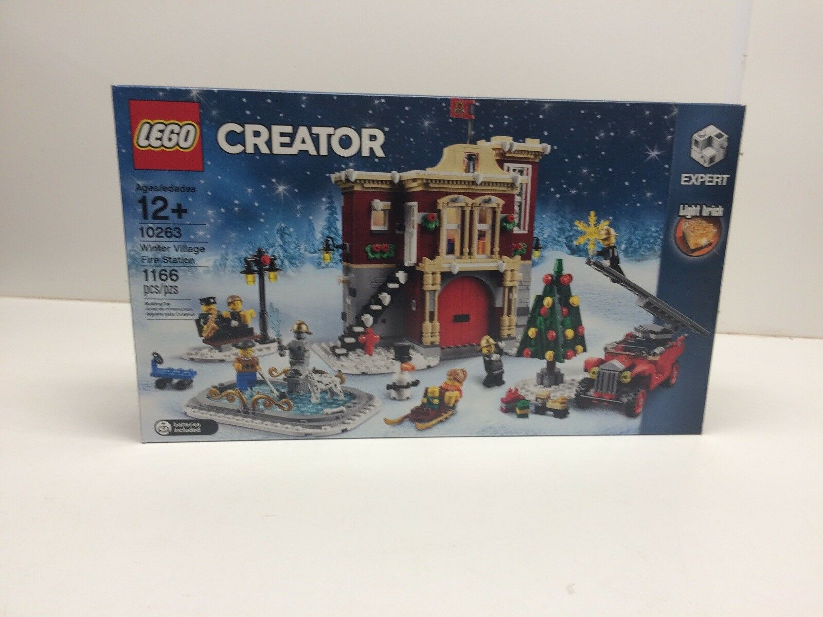 New Neuf dans sa boîte LEGO Creator 10263 Winter Village Fire Station