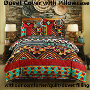 Bohemian-Style-Duvet-Quilt-Cover-Set-Comforter-Cover-Set-Twin-Full-Queen-King