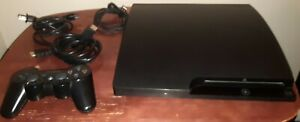 Sony PlayStation 3 System PS3 CECH-3001B Slim TESTED FREE SHIPPING