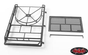 RC4WD Cangrejo Baca con neumático de repuesto de montaje para Axial SCX10 II XJ (Negro) VVV-C0345