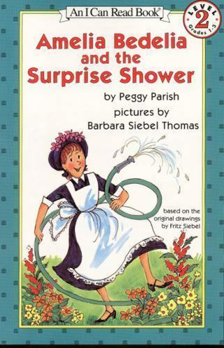 Amelia Bedelia and the Surprise Shower (Book & Cassette) (I Can Read) by Parish