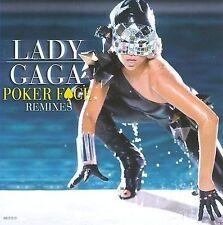 Poker Face [5 Remixes] [Single] by Lady Gaga (CD, Mar-2009, Interscope (USA))