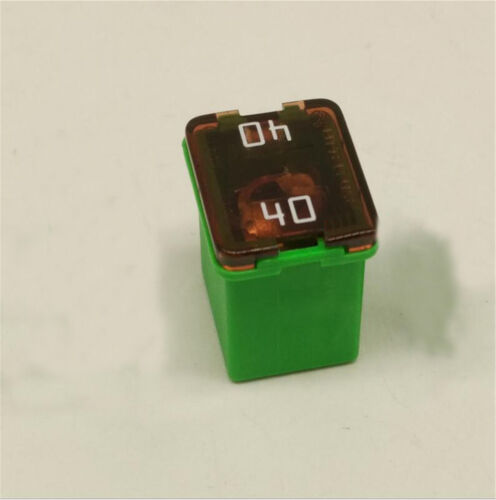 Littelfuse 0895040.Z 895 Square Car Fuse 40A Low Profile JCASE Cartridge Fuses