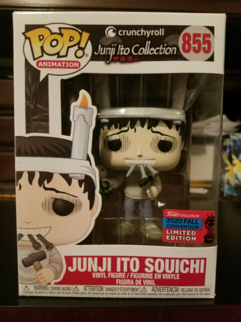 Junji Ito Souichi FREE PROTECTOR NYCC 2020 Funko pop 855