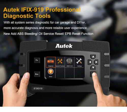 Professional OBDII Diagnostic Scanner Tool Full System ABS//ESP SAS Airbag Engine