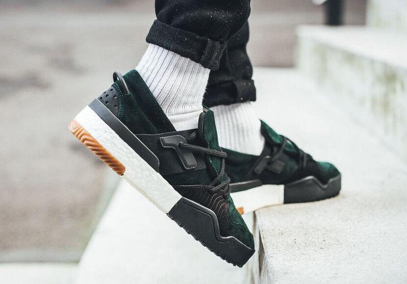 adidas Boost Alexander Wang x AW BBall GUM Low 'Green Night' Black GUM BBall DA9309 sz 12 774379