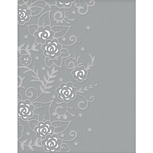 Spellbinders Cutting Embossing Folders  Flower Garden