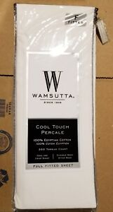 Image Is Loading Wamsutta 350 Thread Count Cool Touch Percale Full