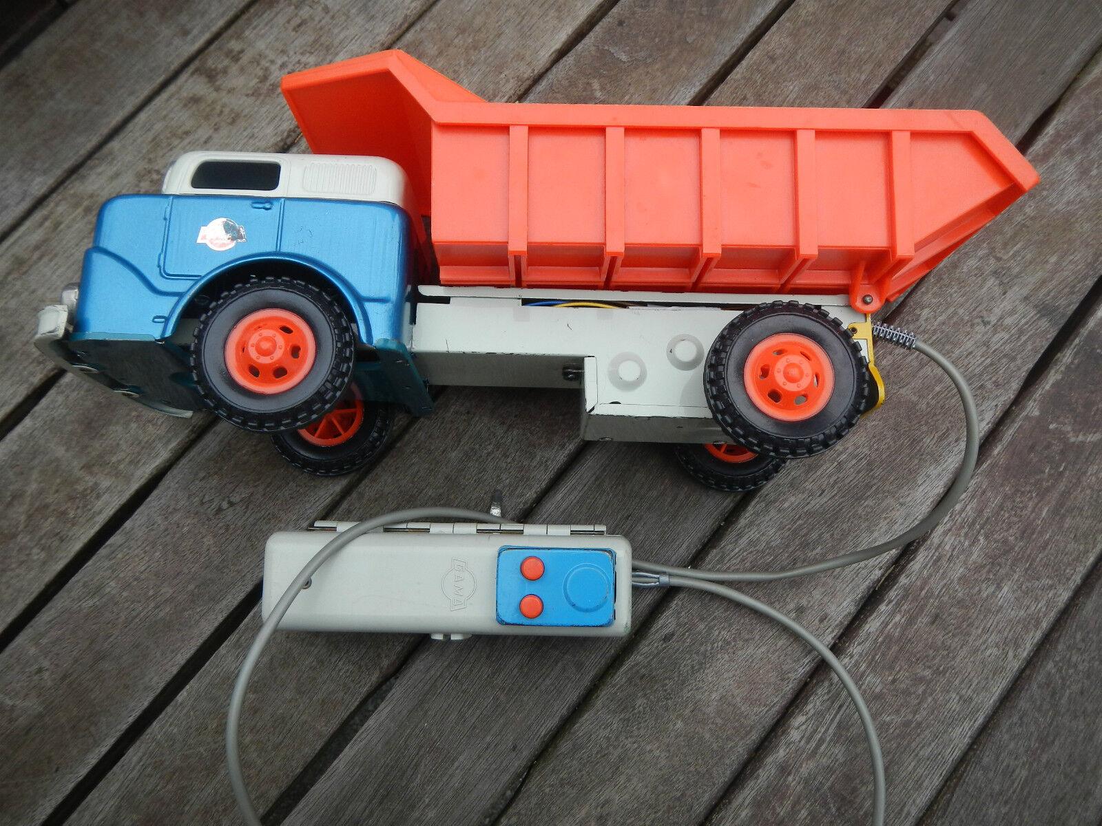 Gama camiones kipper chapa juguete camión de larga distancia directivo 60èr años