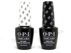 OPI-Gelcolor-Soak-off-Gel-Top-amp-Base-Coat-0-5-oz-15-ml-each-Duo-Set-GC-010-030