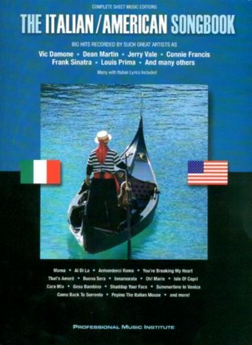 SALE* THE ITALIAN AMERICAN SONG BOOK PIANO VOCAL GUITAR