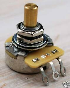 """Potentiomètre Cts 250 Ko Audio Axe Lisse 1/4"""" Solid Shaft Pot Telecaster Ep-0885 Wotn0ubv-07165107-182032486"""