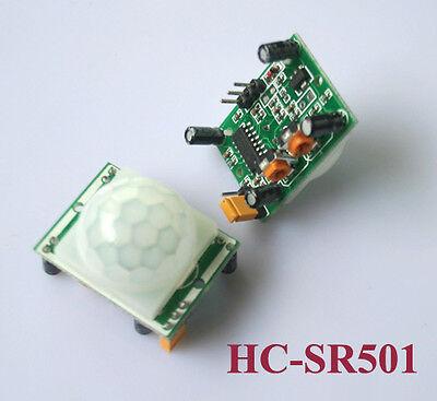 4x Pyroelectric Infrared PIR Motion Sensor Detector Module HC-SR501 WST