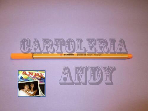 ARANCIO 88//054 STABILO COD PENNARELLO POINT 88 NEON