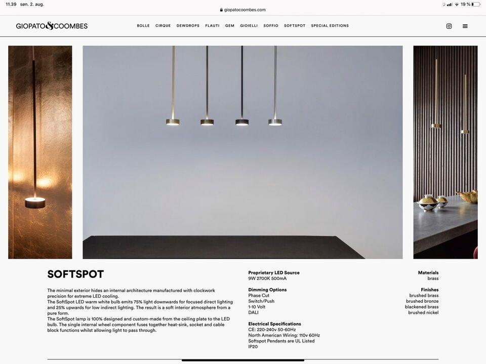 Anden arkitekt, Softspot (3 stk), pendel